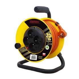 Przedłużacz bębnowy 4GN 20m 3x1mm (PZB1-40-20Y/1)