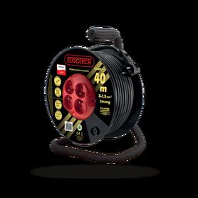 Przedłużacz bębnowy 4GN 40m 3x1,5mm w GUMIE (PZB-40-40G)