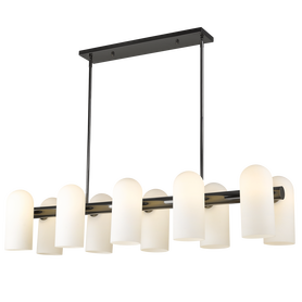 Żyrandol SEOUL P10742BK LAMPA WISZĄCA 10xE27