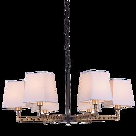 Żyrandol STOCKHOLM P06636BK AU 6xE14 LAMPA WISZĄCA