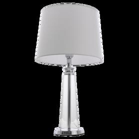 Lampka noc stołowa CHARLOTTE T01332WH Chrom 62 cm