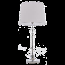 Lampka noc stołowaCHARLOTTE T01295WH Chrom 75 cm