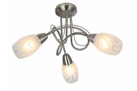 Lampa sufitowa Vidal 3 pł nikiel mat 631603-07