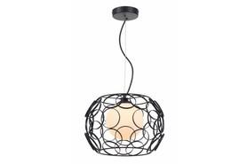 Lampa wisząca zwis Coolio 1 pł 328701-02 czarna