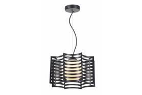 Lampa wisząca zwis Laria 1 pł czarna 328801-02