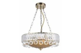 Lampa wisząca zwis Irsina Antique brass 3 pł patyn